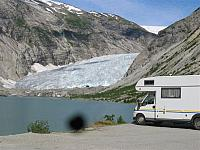 IMG_8770 Parked at the glacier